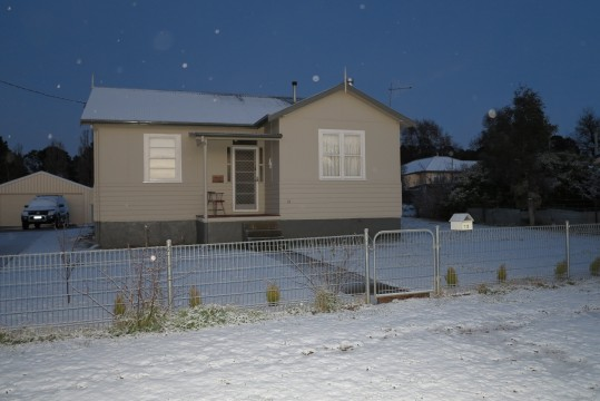 Adaminaby Cottage in August