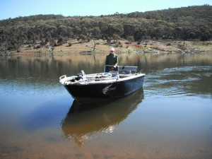 Fly fishing charter boat