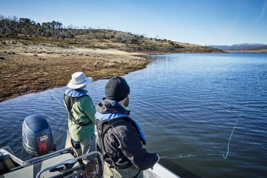Along-shore drift - fly fishing charter